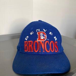 Blue Denver Broncos Cap